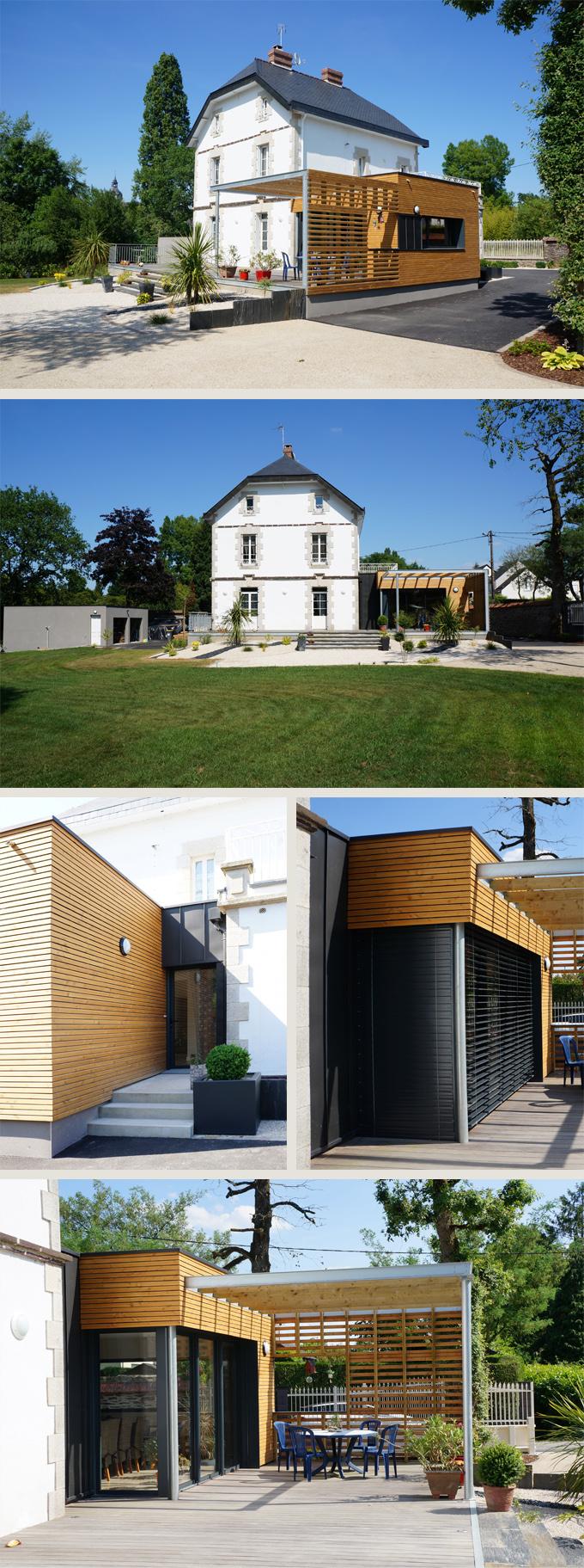 Rénovation et Extension d'une maison de caractère à Plélan le Grand (35)