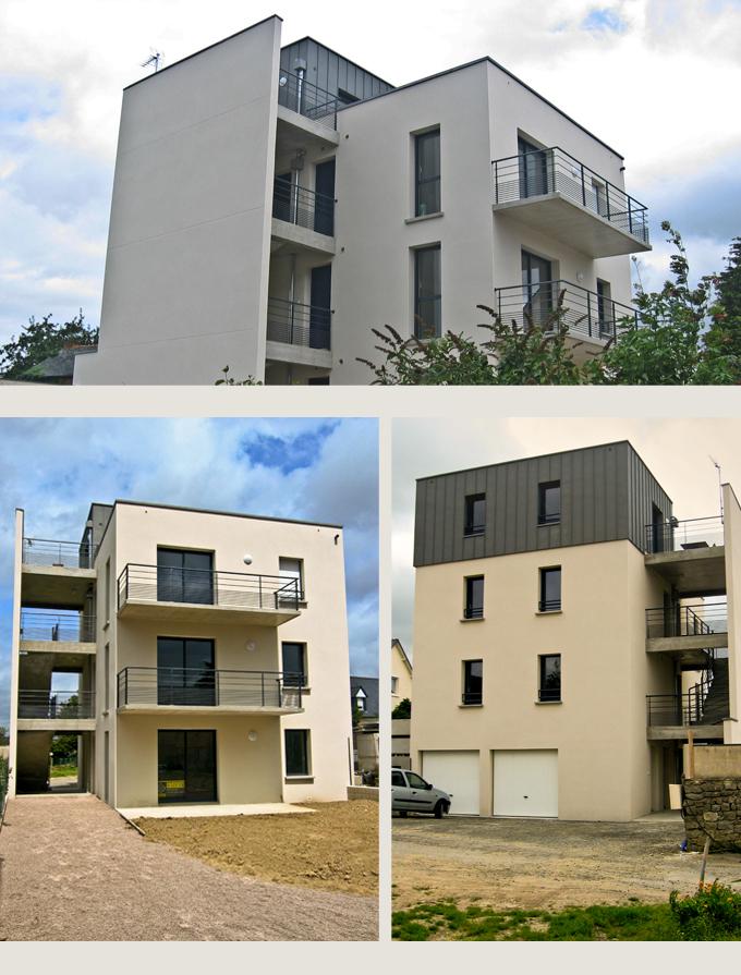 Création de 4 logements à Montauban (35)