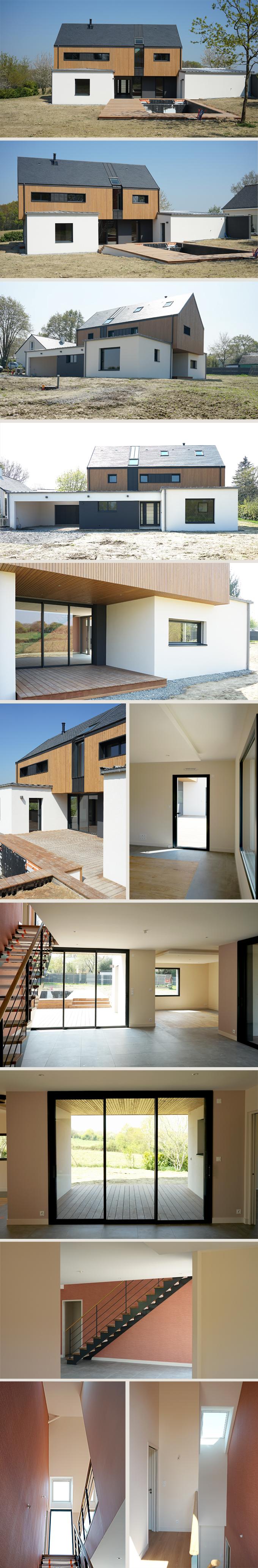 Construction d'une habitation à TREILLERES (44)
