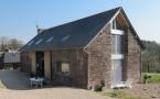 Réhabilitation d'une grange en logement à Maxent (35)
