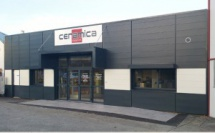 """Réaménagement de façade & d'intérieur d'un local commercial du magasin """"Ceramica Vannes"""" - THEIX (56)"""