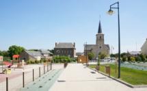 Aménagement paysager & aire de jeux en centre bourg - MERNEL (35)