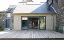 Extension & rénovation d'une maison de bourg - MAXENT (35)