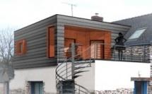 Extension bois d'une maison d'habitation - LA CHAPELLE BOUEXIC (35)
