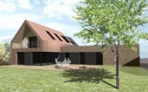 Construction d'une maison prolongement de dépendance en pierres - VANNES (56)