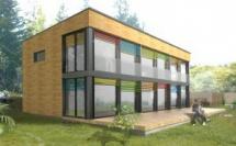Construction d'une maison en ossature bois - ILLE ET VILAINE  (35)